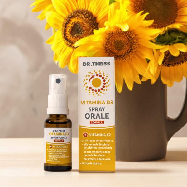 Dr. Theiss Vitamina D3 Spray Orale - integratore alimentare